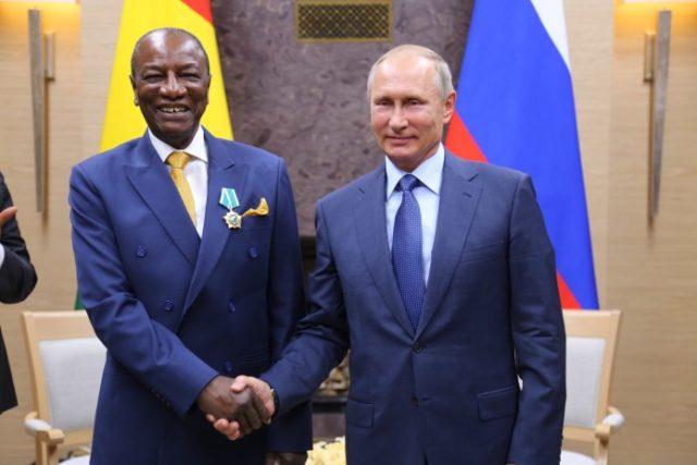 60eme Anniversaire De La Guinee Le Message De Vladmir Poutine A